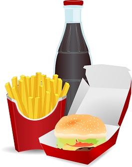 deixar de comer fast food