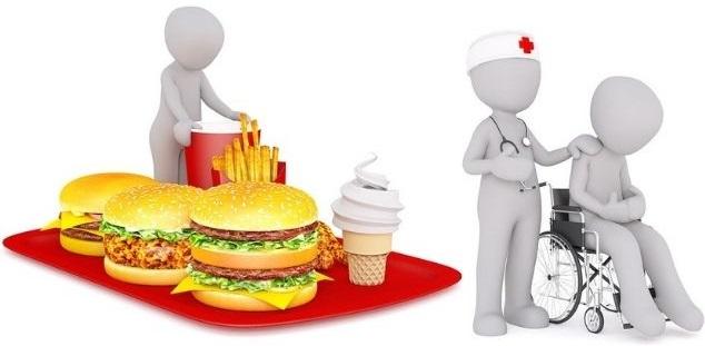 problemas de saúde alimentação ruim